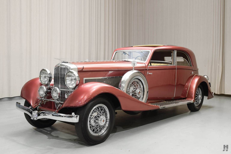 1933 Duesenberg J Franay Sunroof Berline For Sale 1880332