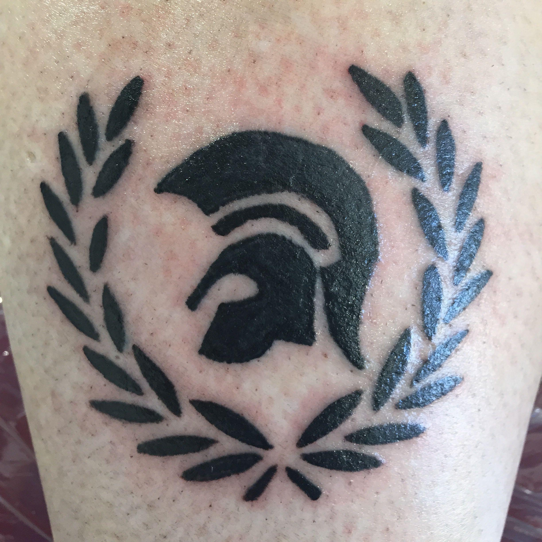 trojan ska tattoo for a skinhead girlie skinhead tattoo pinterest tattoo skinhead tattoos. Black Bedroom Furniture Sets. Home Design Ideas