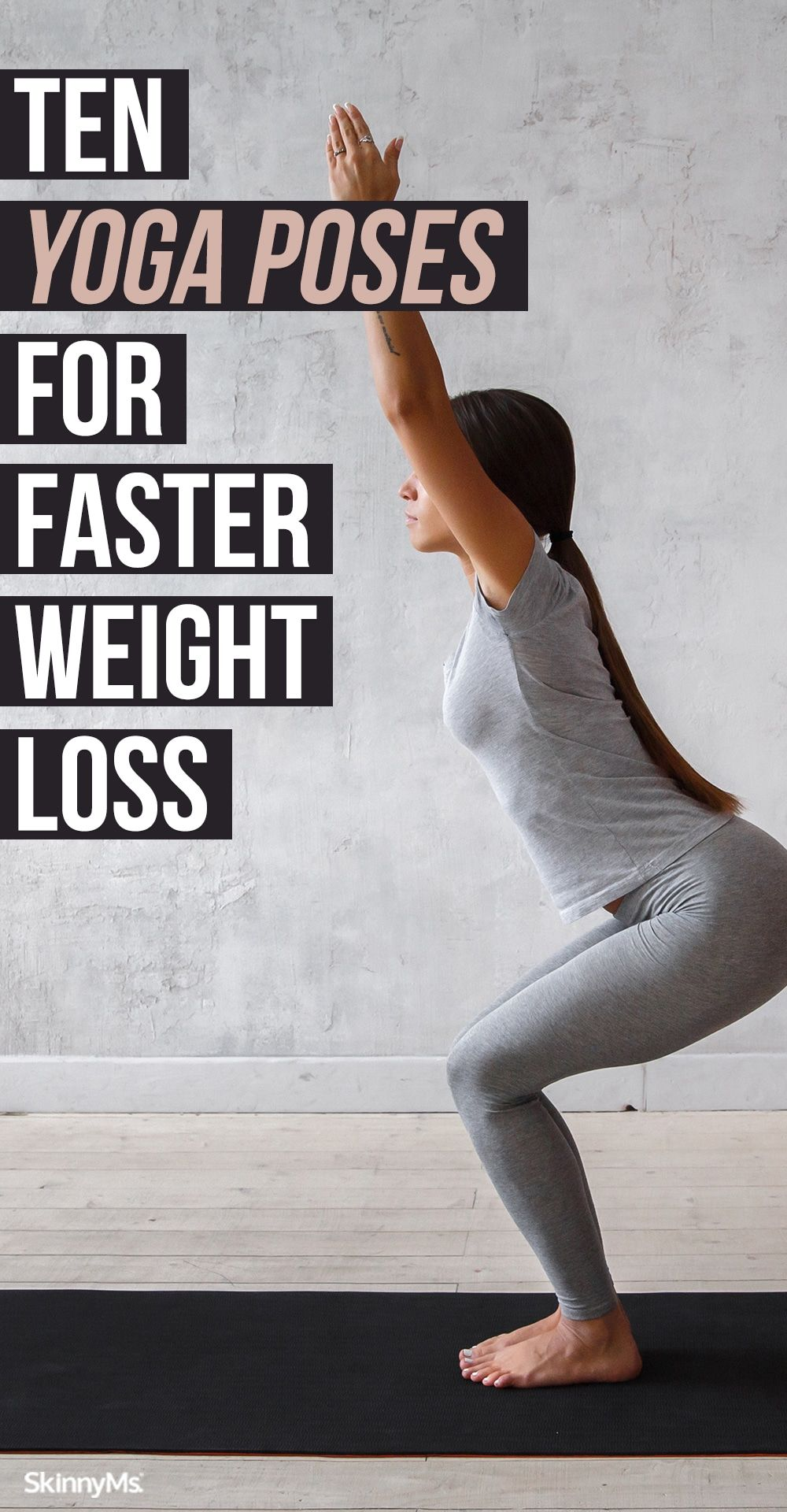 10 Yoga Poses for Faster Weight Loss