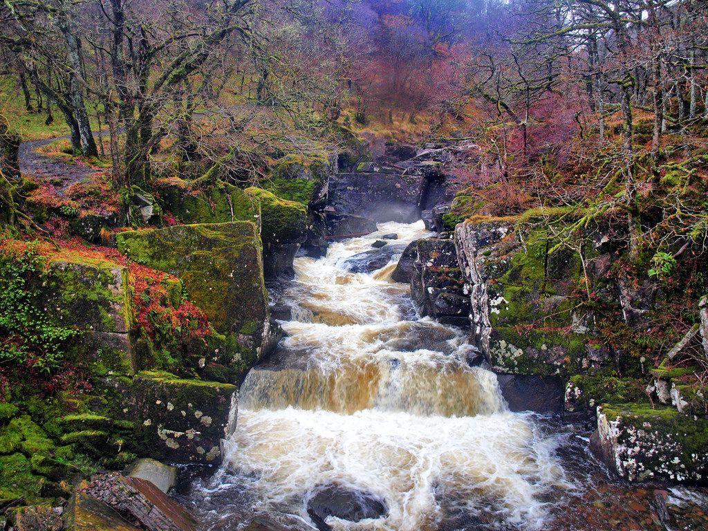 Bracklinn falls scotland vacation stirling scotland