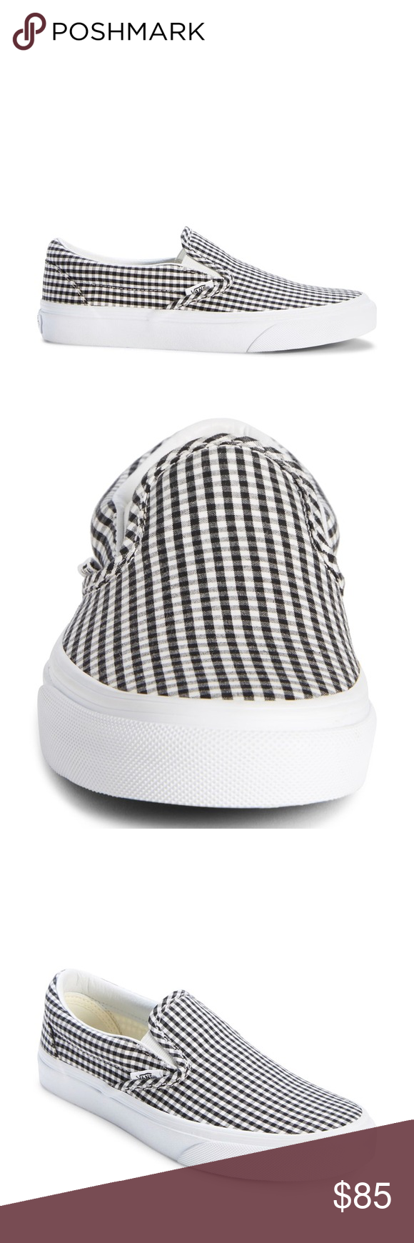 20ca0bf1d0ca Gingham Vans slip on style New with tags. Sold out in stores. Great addition