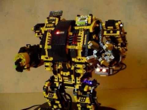 avr lego robot dreadnought geeky gadgets mobile news. Black Bedroom Furniture Sets. Home Design Ideas