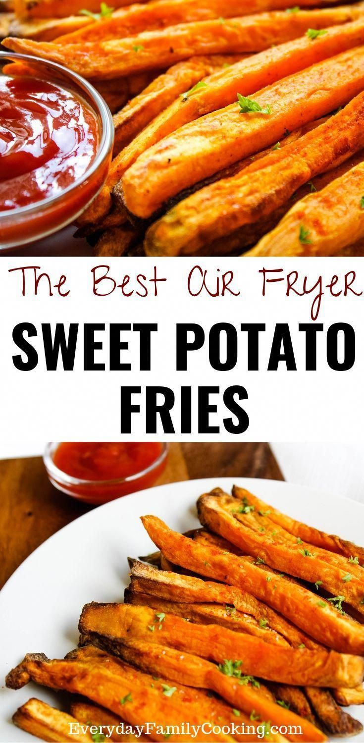 How to make homemade sweet potato fries in an air fryer