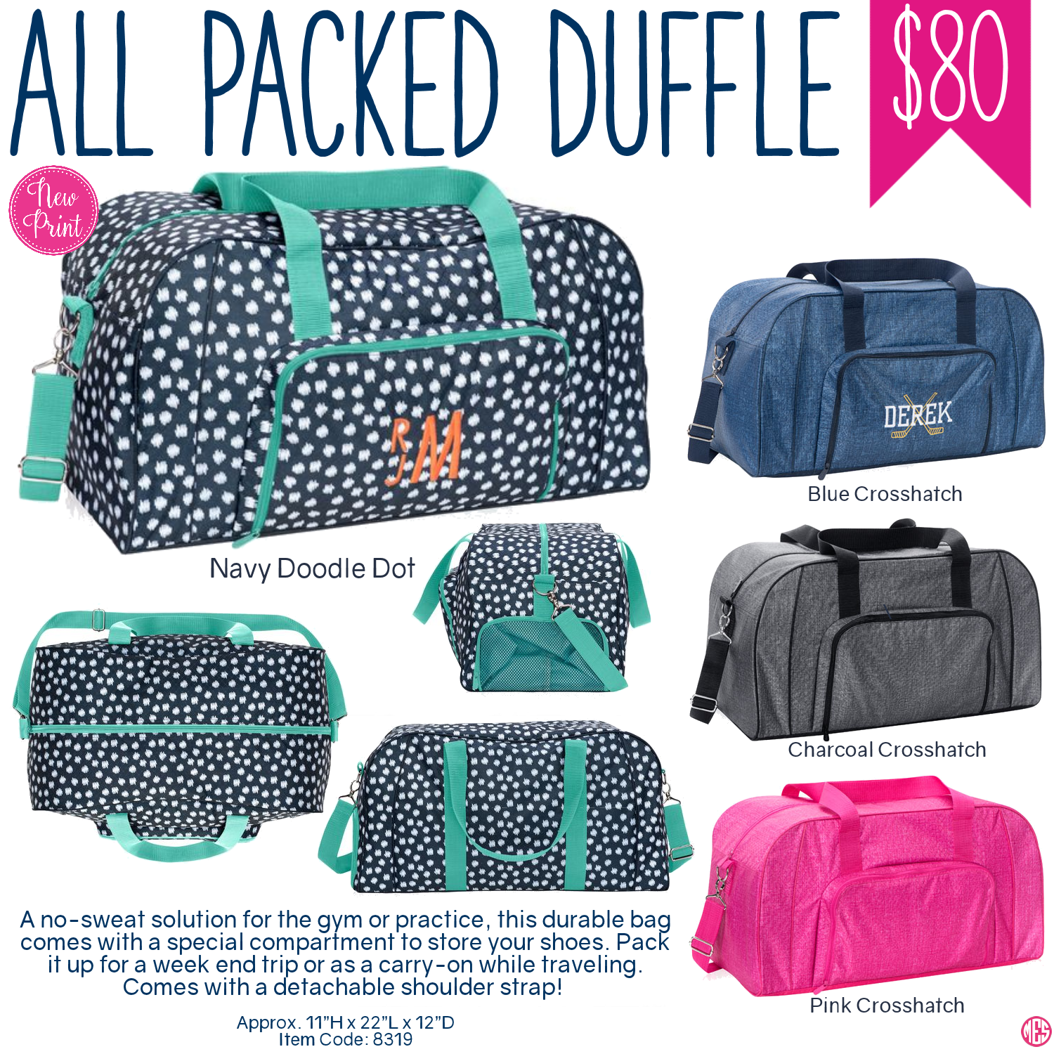44caaa1331bd Thirty-One All Packed Duffle - Spring Summer 2017