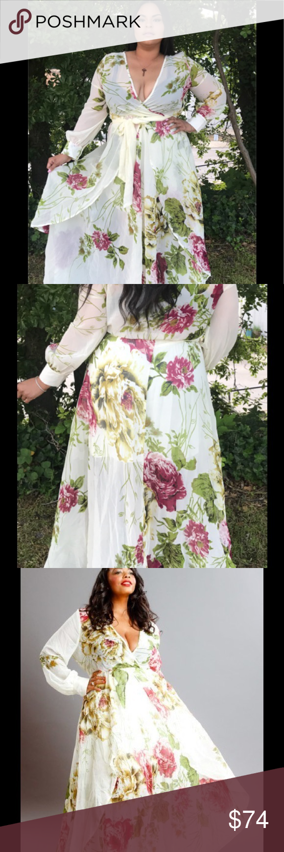 xtran gorgeous sheer floral maxi dress boutique floral maxi