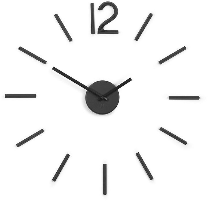 Umbra - Blink Clock - Black home Pinterest Clocks and Modern - küchen wanduhren shop
