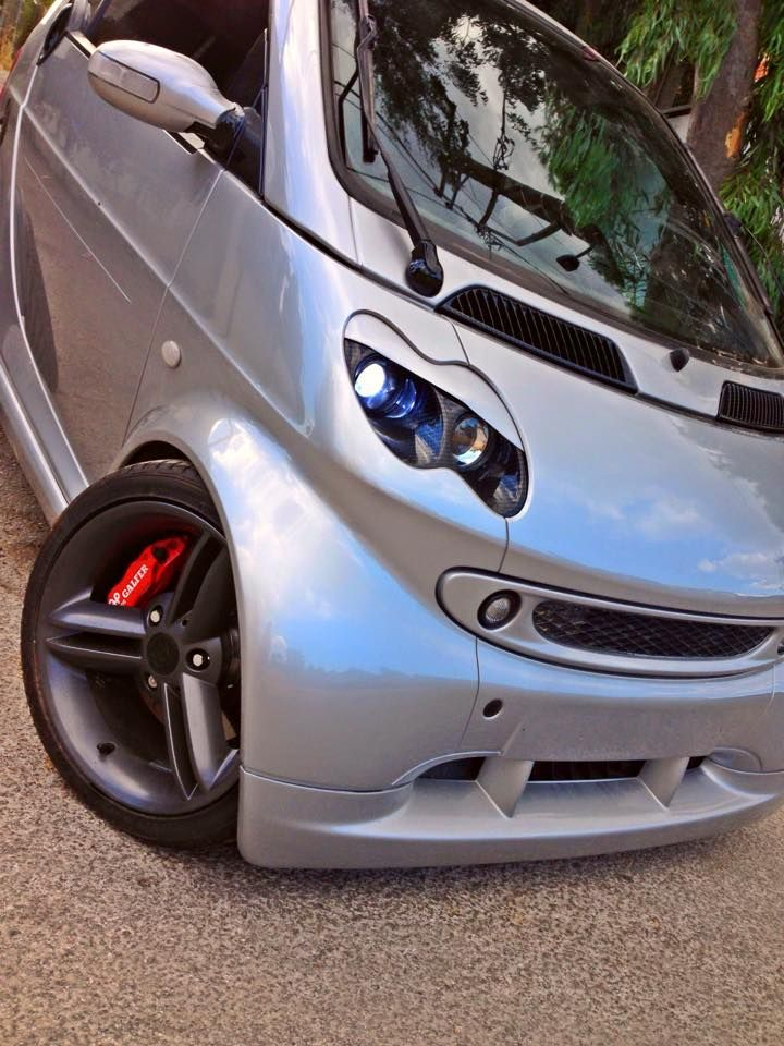 Modified Smart Fortwo Cabrio 2005 Picture 4 Smart Cars Smart