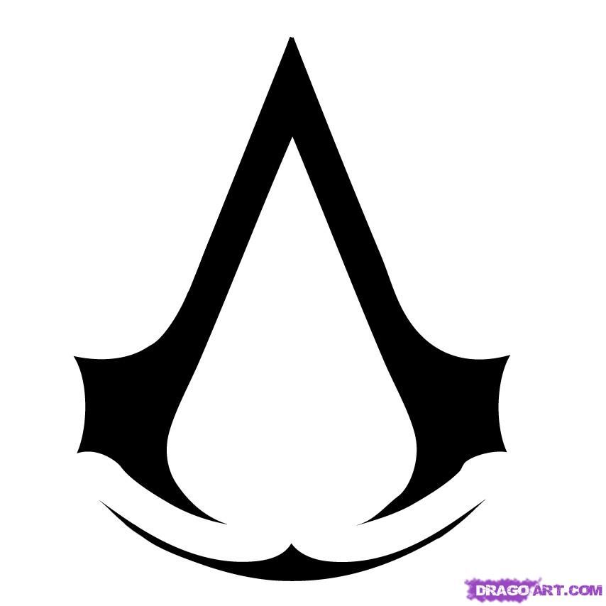 How To Draw Assassins Creed Step 4 Assassins Creed Tattoo