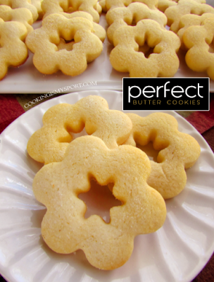 Perfect Butter Cookies Resep Masakan Untuk Anak Resep Masakan Resep Resep Kue
