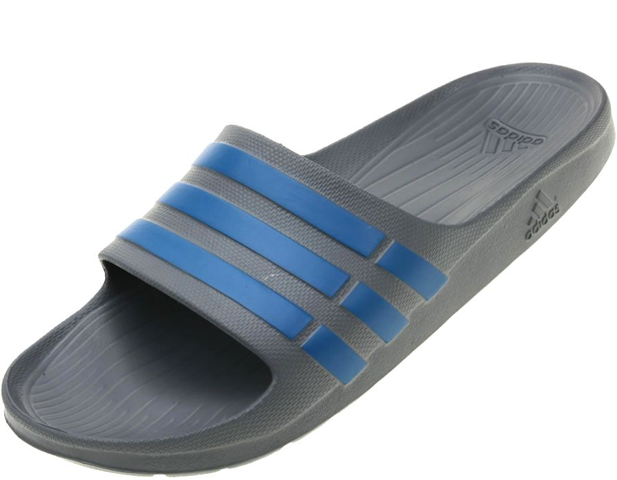 Adidas Duramo Slide Flip Flops Unisex Mens Womens Comfy Beach Sandals UK5-16