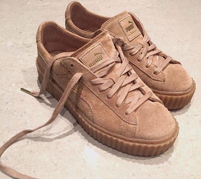 best sneakers bfe7f 090ca Puma Creepers Rihanna Tan simplisecurity.co.uk