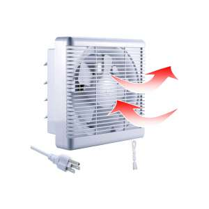 Sailflo 10 Inch Exhaust Shutter Basement Fan In 2020 Ventilation Fan Basement Ventilation Fans Basement Ventilation