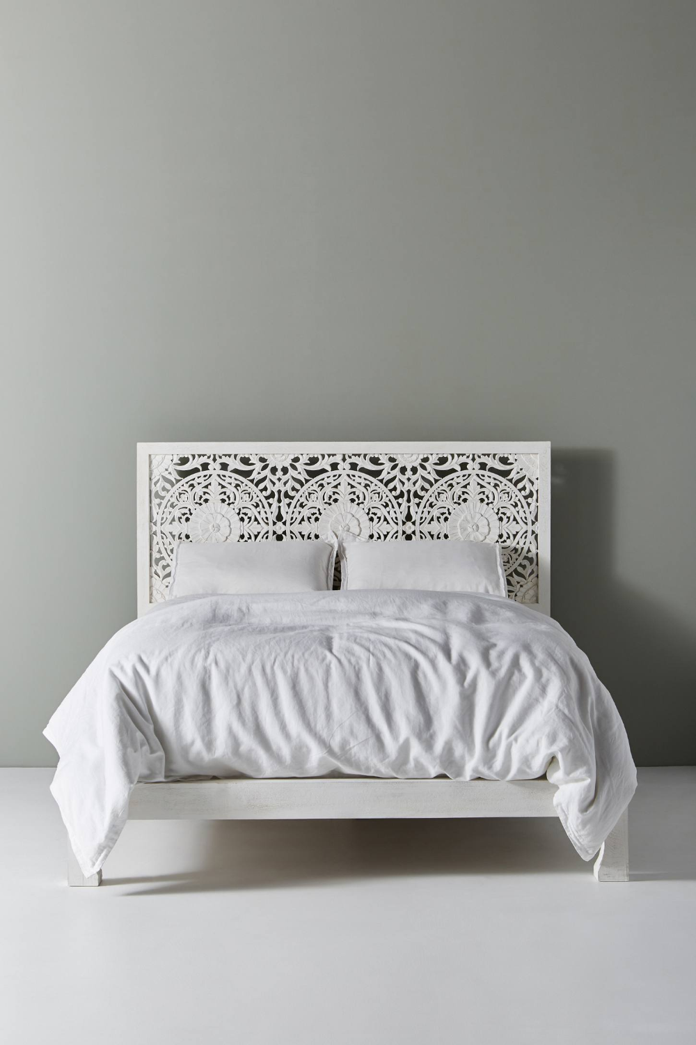 Handcarved Low Lombok Bed In 2020 Bed Frame Small Room Bedroom Bed