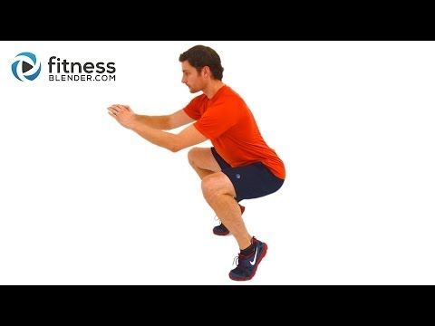 Quick Leg Burn - Beginner to Advanced Lower Body Workout Routine
