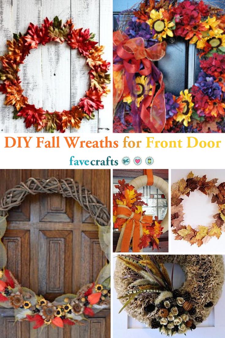 26 Diy Fall Wreaths For Front Door Diy Fall Wreath Fall Wreaths Wreaths For Front Door