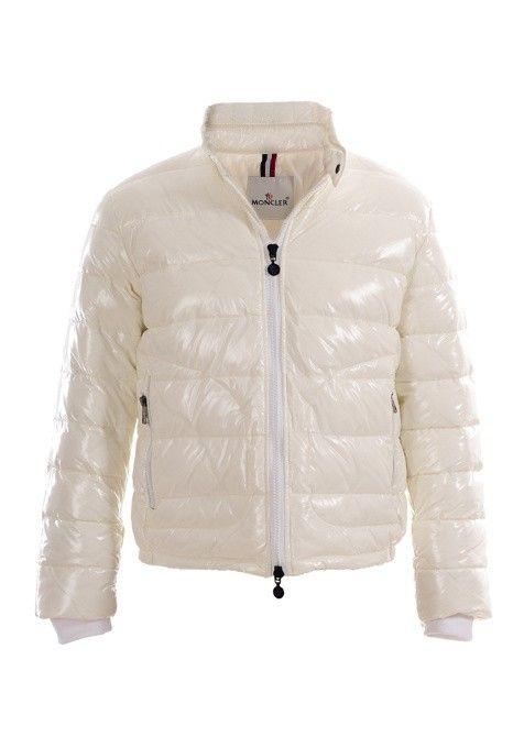 white moncler jacket
