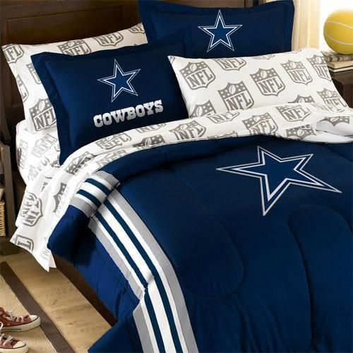 Dallas Cowboys Bedroom Decor: NEw NFL DALLAS COWBOYS TWIN BEDDING SET
