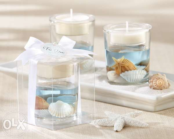 View Seashell Tealight Candle Wedding Debut Souvenirs Giveaways Beach Theme For Sale In Baguio O Candle Wedding Favors Beach Wedding Favors Beach Theme Wedding