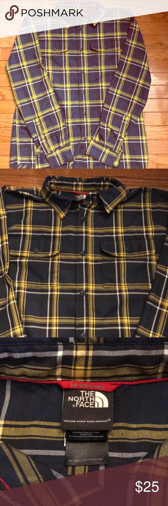 7a228e3f1a2 North Face Men s Long Sleeve Shirt