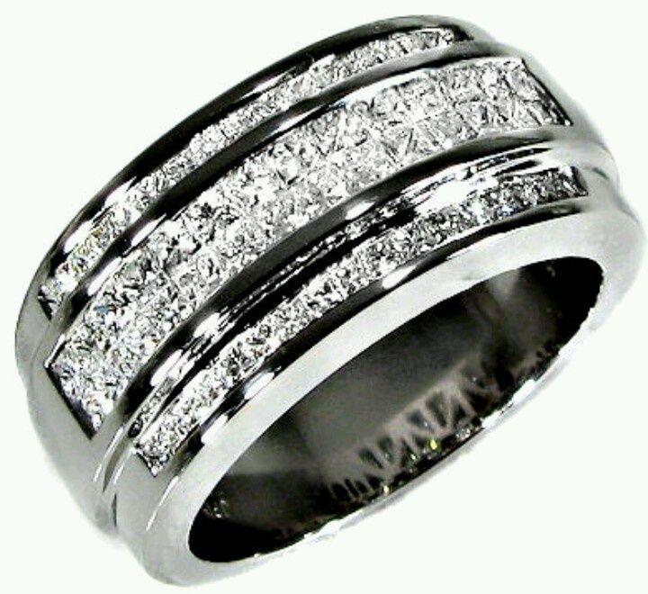 Unique Mens Diamond Wedding Bands
