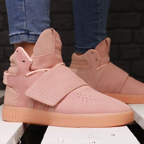 421d6a18843e adidas More Kids Adults also OK adidas Tubular Invader Strap pink 22-24.5cm  9