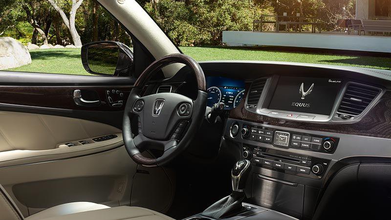 2015 Equus Ultimate Ivory Interior Hyundai Used Cars Ivory Interior