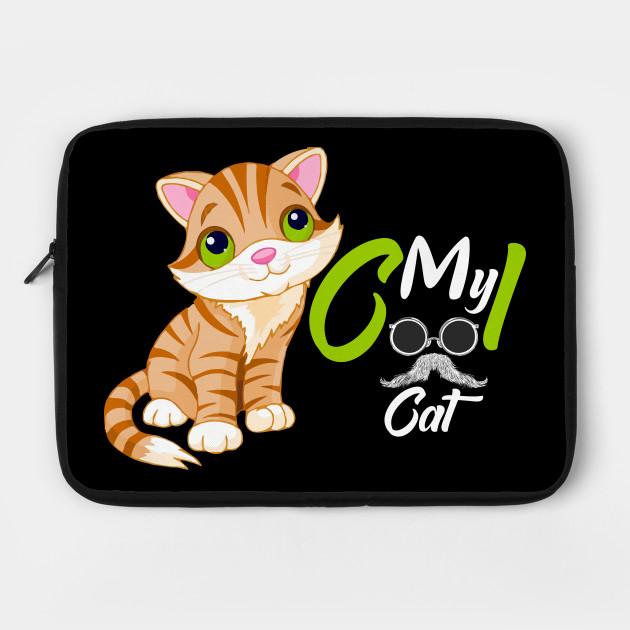 My Cool Cat My Cool Cat Laptop Case Teepublic Cool Cats Laptop Case I Cool