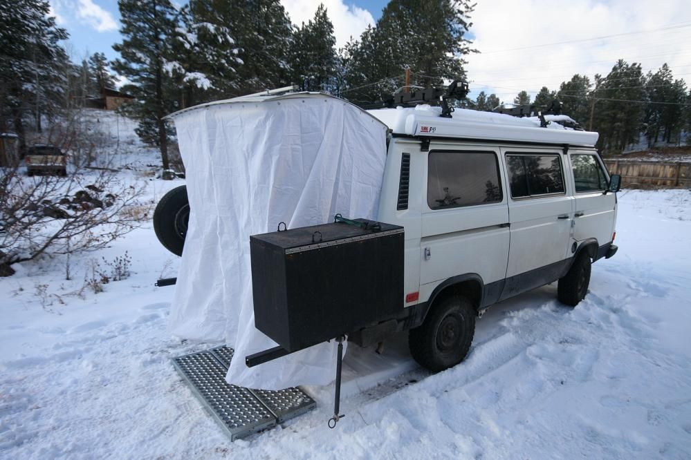 Drive Nacho Drive » Hippy Bus Hot Showers! Westfalia