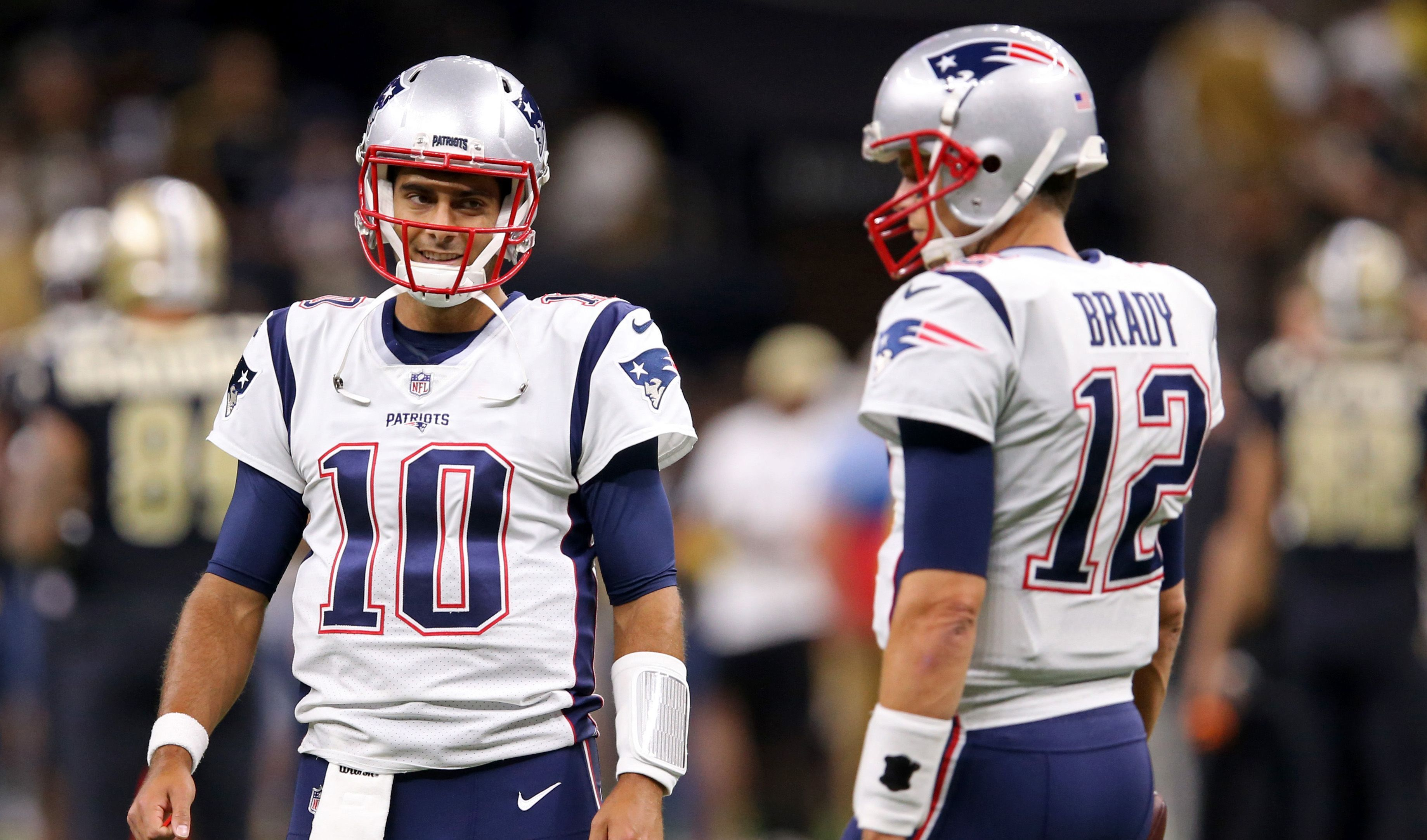 Tom Brady Proud Of Ex Teammate Jimmy Garoppolos Success With 49ers National
