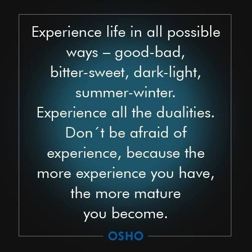 Osho Quote On Maturity