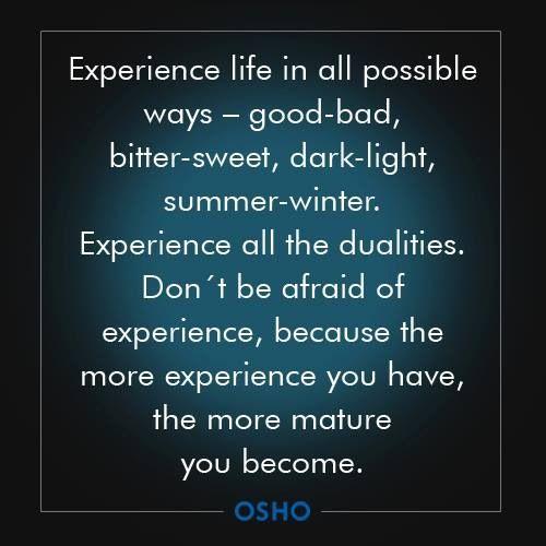 Osho Quote On Maturity