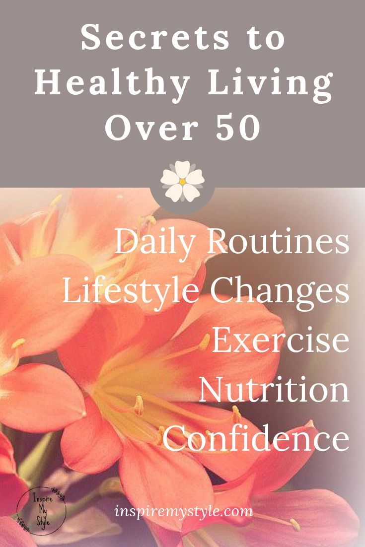 Healthy Living Tips for Women in Midlife – Inspire My Style