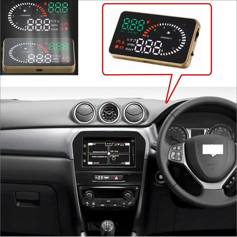 Car Hud Head Up Display For Suzuki Grand Vitara Swift Sx4 Jimny