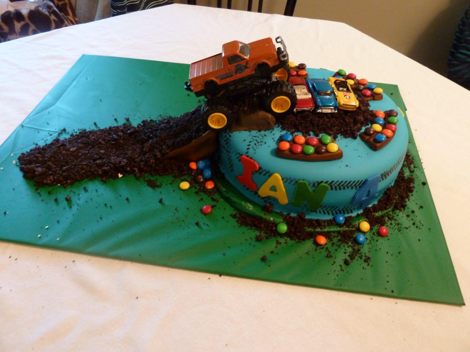 monster truck cake ideas Monster Truck Cakes Monster Truck Cake