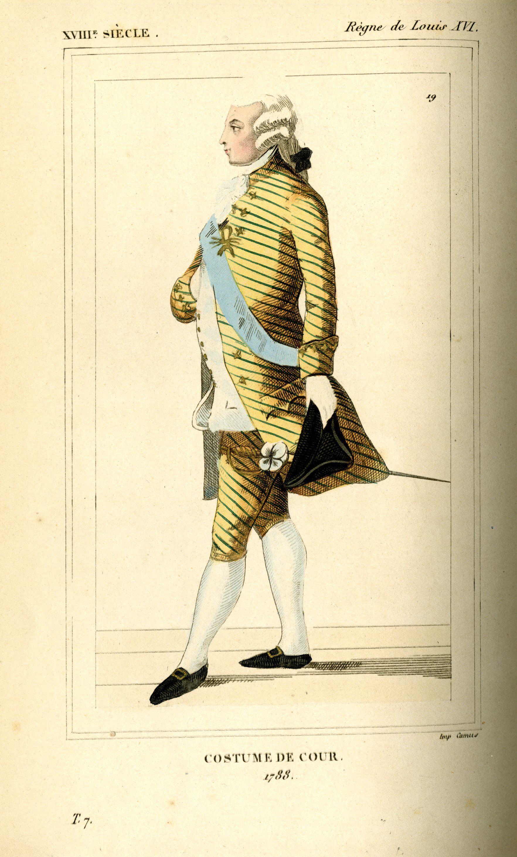 Costumes Historiques de la France, par le Bibliophile Jacob. 1852, vol. 7,  plate 19
