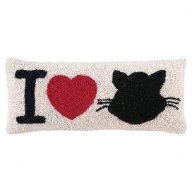 I Love Cats Pillow