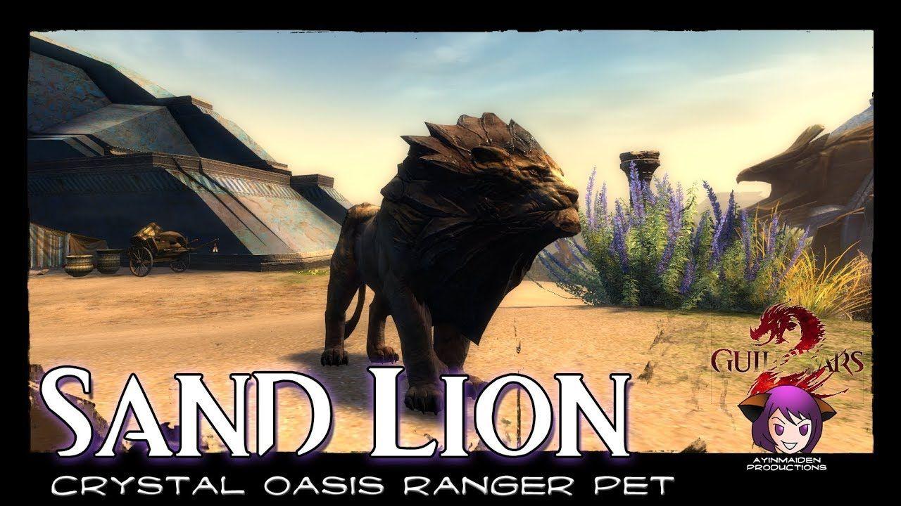 Crystal Oasis Ranger Pet Juvenile Sand Lion Demo Weekend Guild Wars Guild Wars 2 Ranger