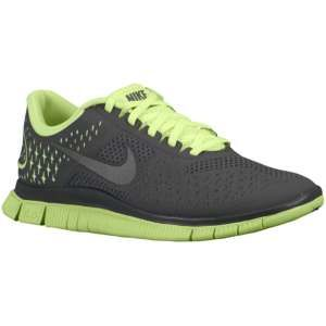 competitive price a9d91 ae886 Nike Free Run 4.0 - Women s - Running - Shoes - Liquid Lime Reflect  Silver Dark Grey Have these. Amazing.