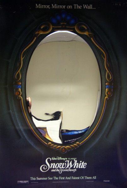 Mirror Mirror On The Wall Snow White vintage snow white mirror movie poster | inspiring illustration