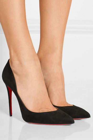 christian louboutin pigalle black suede