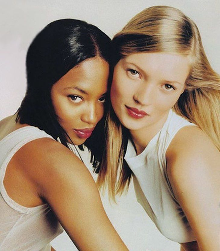 Naomi Campbell Kate Moss Flaunts Their Sizzling: 913 Likes, 9 Comments