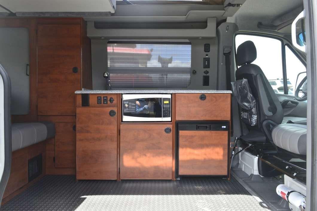 New Mercedes Sprinter 4x4 Camper Van The Most Fuel