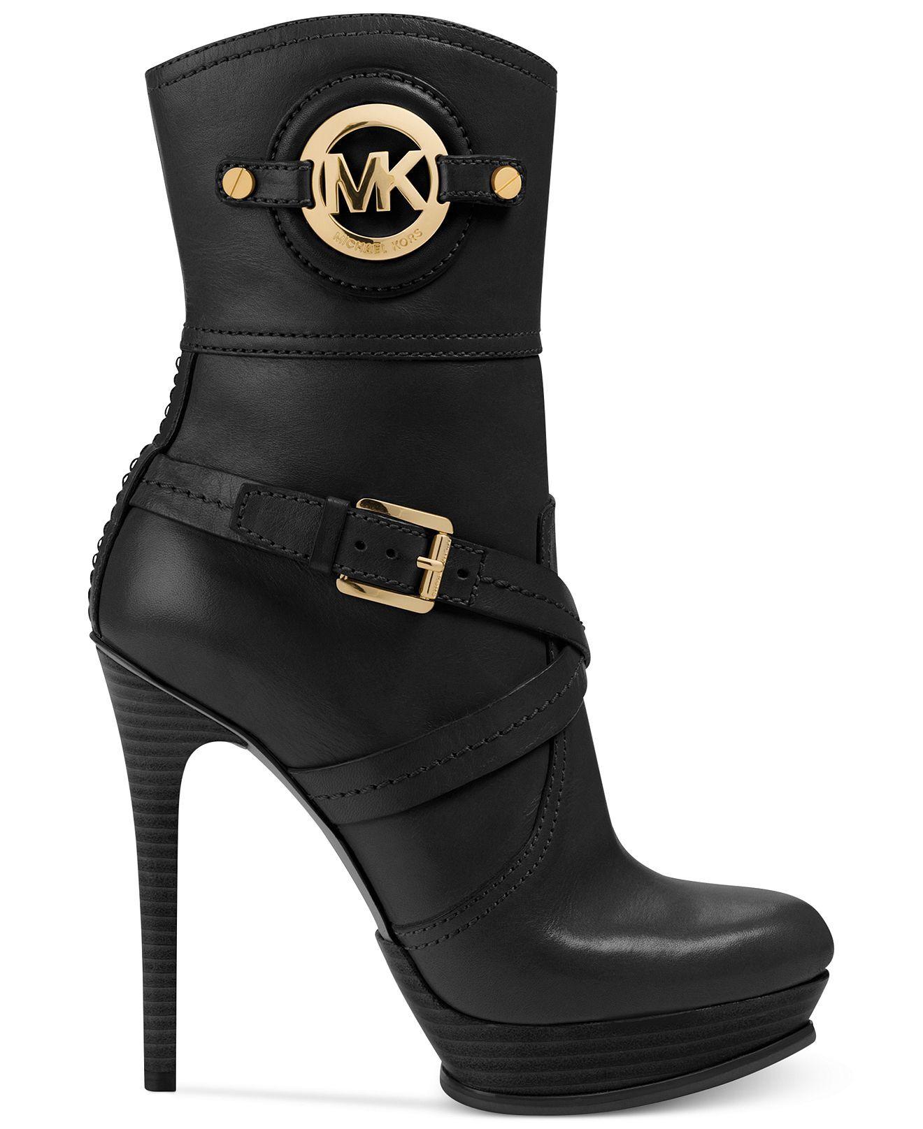 6938eb13c75 MICHAEL Michael Kors Boots, Stockard Booties | Shoes | Shoe boots ...