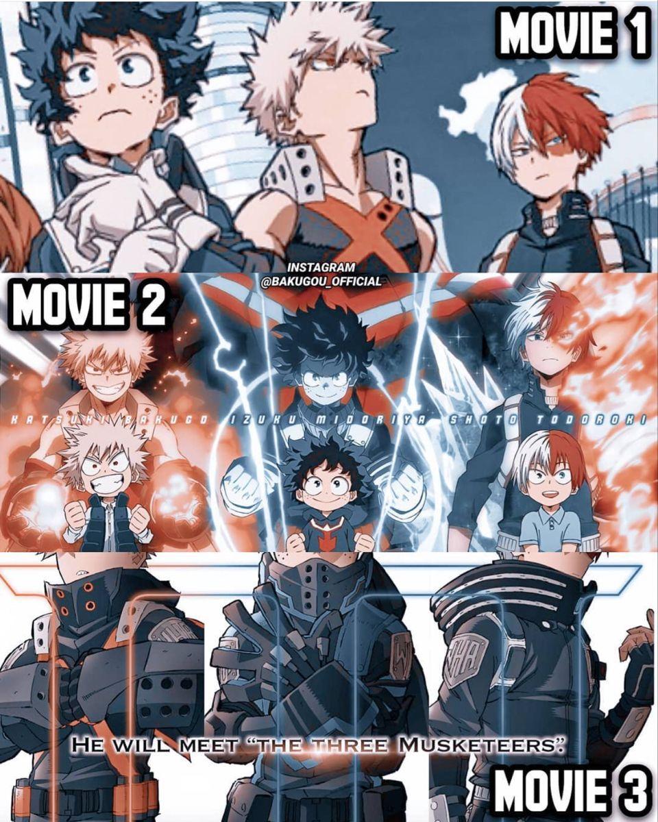 My Hero Academia Creator Kohei Horikoshi Confirmed The Movie S Connection To The Manga Hero Movie Hero Poster My Hero Academia