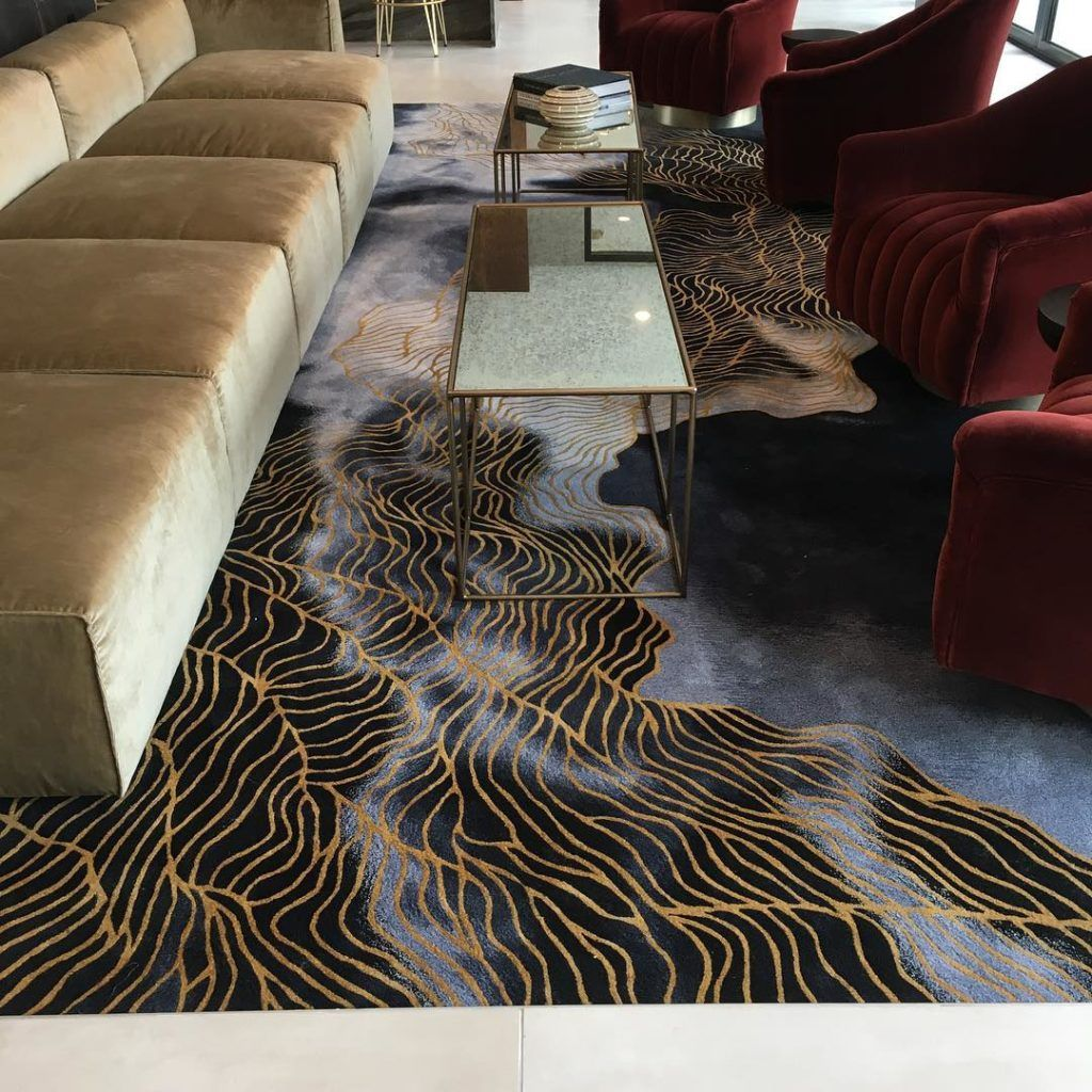 Hand Tufted Custom Wool Rug From Atlas Masland Contract Rugs