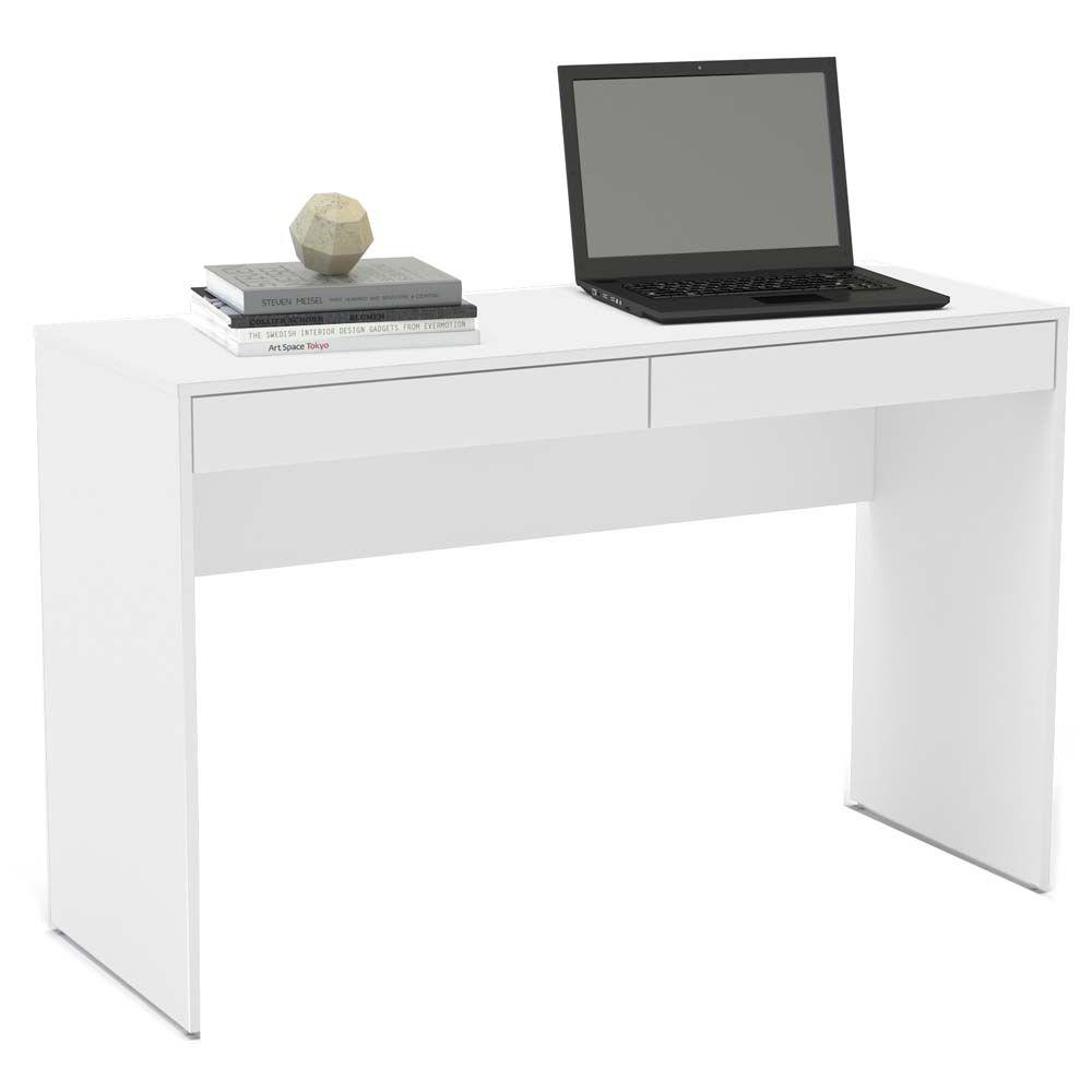 Mesa Para Computador Ou Escritorio Politorno Lindoia Com 2 Gavetas