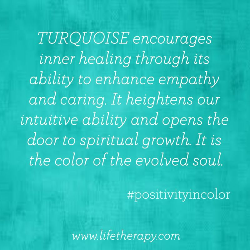 evolve with the color turquoise colorfacts