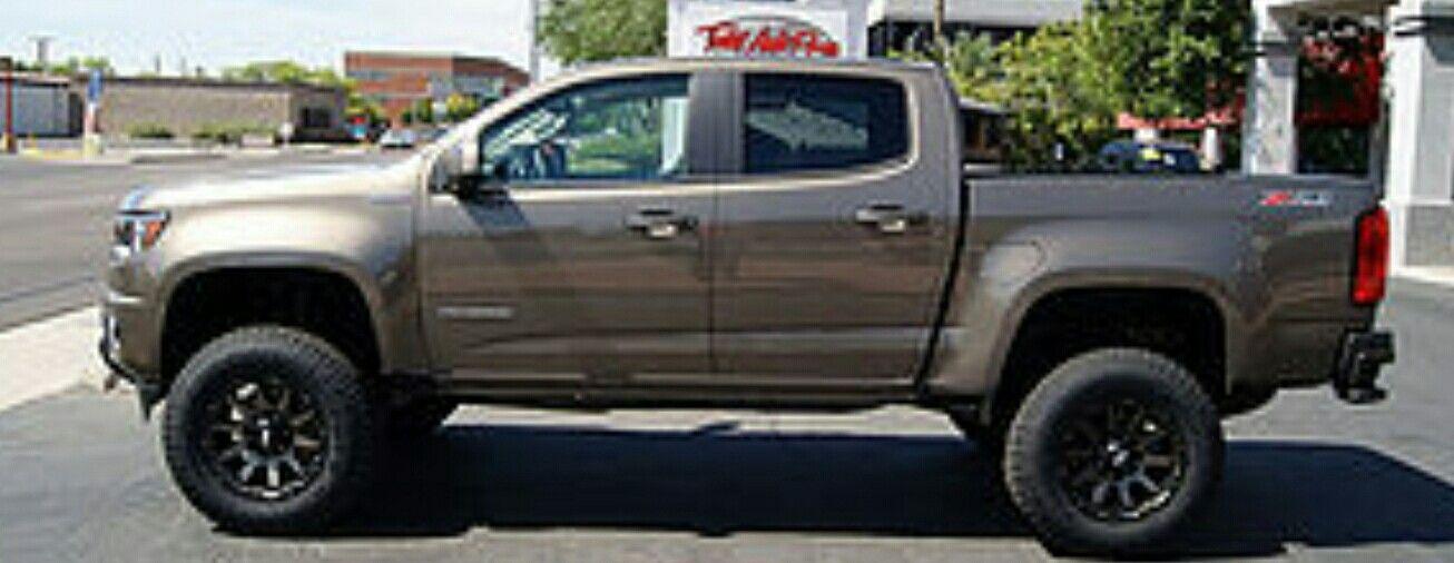 2016 Lifted Chevrolet Colorado 2015 Lifted Chevrolet Colorado