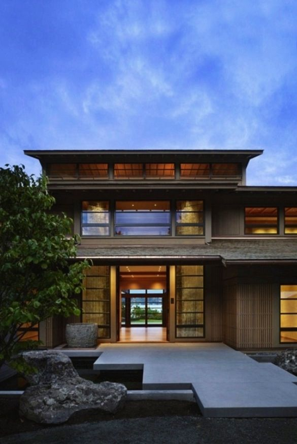 astonishing villa design inspired by japanese architecture engawa house japanese house. Black Bedroom Furniture Sets. Home Design Ideas