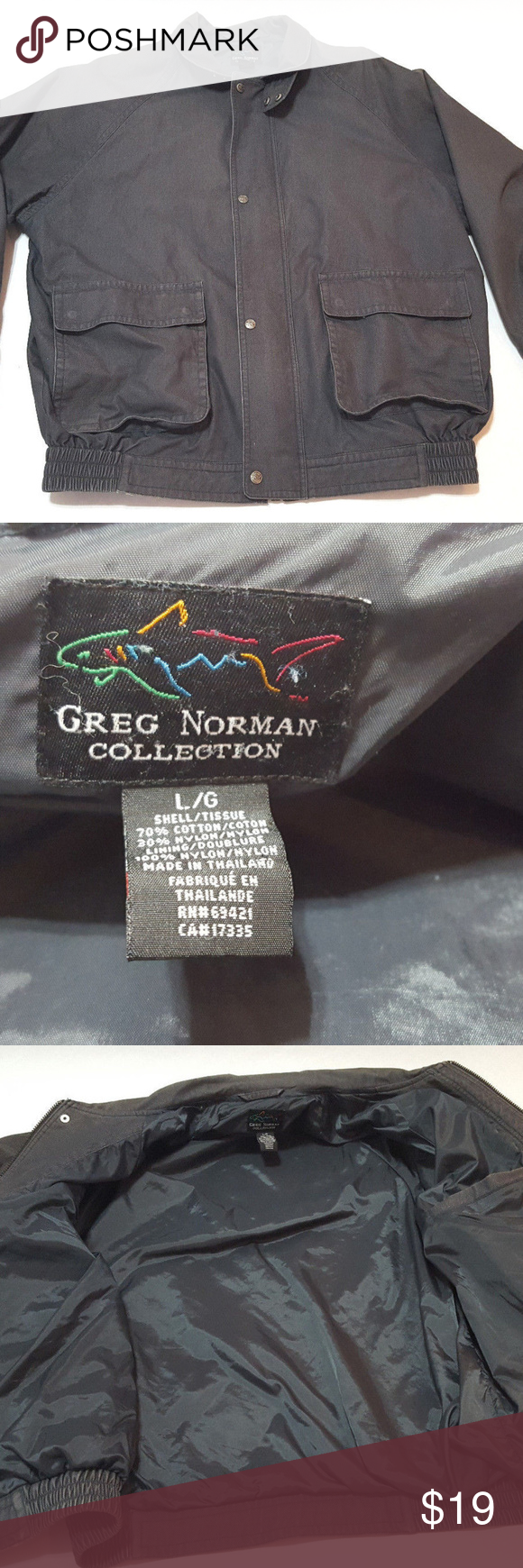 40 Off Greg Norman Collection Jacket Jackets Golf Jackets Greg Norman